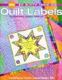 50 More Nifty Iron-on Quilt LabelsBarbara Baatz-Hillman/Leisure Arts - Product Image