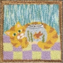 """Here Fishy, Fishy...The Quilted Rabbit - Product Image"