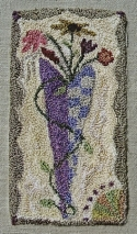 Heart & Flowers PunchneedleReets Rags to Stitches - Product Image