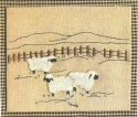 Sheep GrazingCheryl Mihills/Homespun Designs for Punch Needle - Product Image