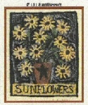 SunflowersKaren Amadio Gates Folk Art Designs - Product Image