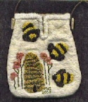 Beehive PurseMountain Haven Crafts - Product Image