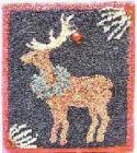Wreathed ReindeerCheryl Schulz - Product Image
