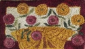 Flower Basket w/ Red BorderM Shaw Folk Art Collections - Product Image