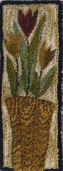 Tall Tulip BasketM Shaw Folk Art Collections - Product Image