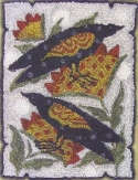 Two Crows with SunflowersM Shaw Intricates Collections - Product Image