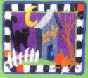 Haunted HouseQuilted Frog - Product Image