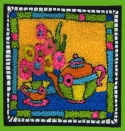 Tea TimeQuilted Frog - Product Image