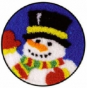 Cheerful SnowmanSweetheart Tree - Product Image