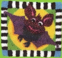 Smiling BatQuilted Frog - Product Image
