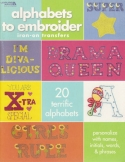 Alphabets to EmbroiderLeisure Arts - Product Image