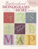 Embroidered Monograms and More - Book 2Leisure Arts - Product Image