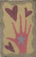 Reach for the HeartsHandmaiden Designs - Product Image