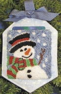 Snowman Gift Card HolderThe Quilted Rabbit - Product Image