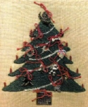 Christmas TreeCheryl Mihills/Homespun Designs for Punch Needle - Product Image