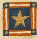 Stars and StripesKaren Amadio Gates Folk Art Designs - Product Image