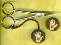 Scissor Fob and PinMountain Haven Crafts - Product Image