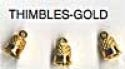 Thimbles/gold - Product Image
