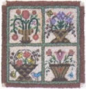 My Hearts Garden BasketsLinda Myers/Farmhouse Quiltworks - Product Image