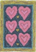 Homespun HeartsLinda Myers/Farmhouse Quiltworks - Product Image