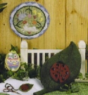 Punchneedle for SpringErica Michaels Needleart Designs - Product Image
