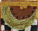 Large Watermelon SliceM Shaw Folk Art Collections - Product Image