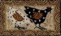 Two ChickensM Shaw Folk Art Collections - Product Image