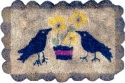 Black Birds and FlowersMary Jo Wylie - Product Image