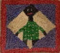Black Folk Art DollMary Jo Wylie - Product Image